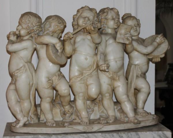 1De engelen van Kasteel Groot Engelenburg