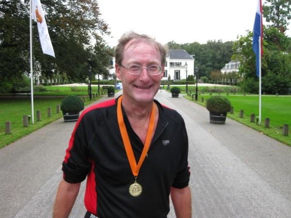 Hans Buis, de nummer 5 van de 100 Marathon Club Nederland, met 409 Marathons.