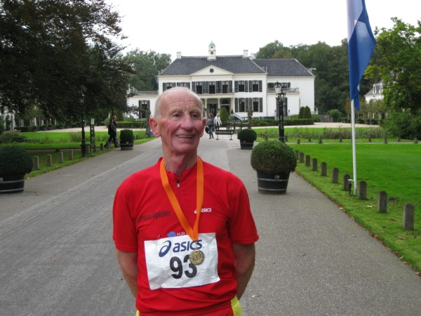 Johan Spieker (D), met 315 Marathons.