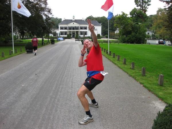 Johan Engelen (B), met 205 Marathons.