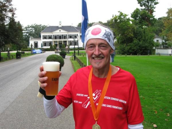 Louis Hufkens, met 145 Marathons.