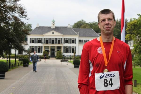 Rudy van der Heijden, de nummer 65 van de 100 Marathon Club Nederland, met 68 Marathons.