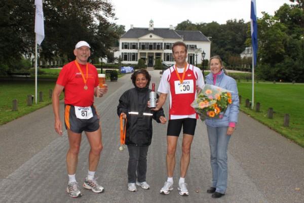 Francis Spoelstra, het jongste lid van de 100 Marathon Club Nederland, met 100 Marathons.