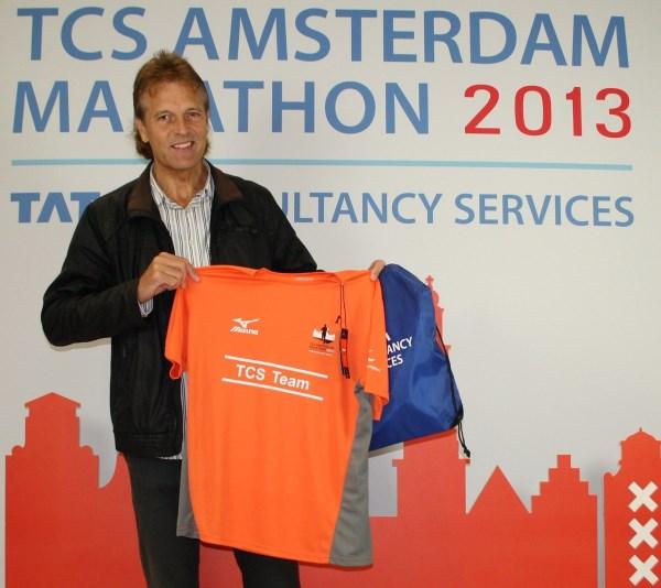 2 Ingedeeld in het TCS marathon team van de hoofdsponsor