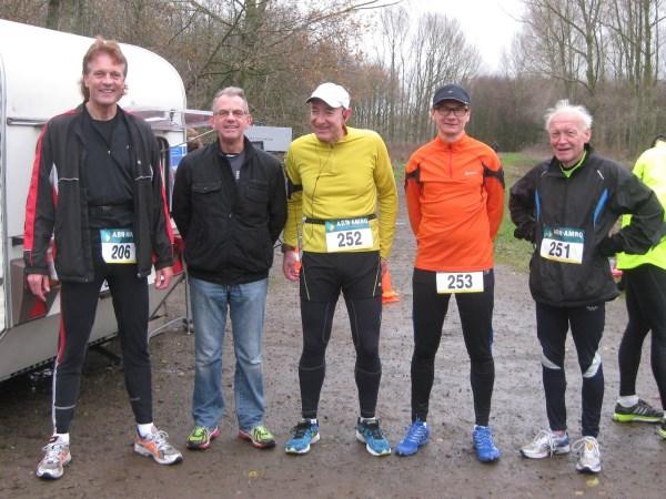 1 Francis Spoelstra, Toon van Vlimmeren, Bob Bock, Tobias Lundgren, Anton Schuurman