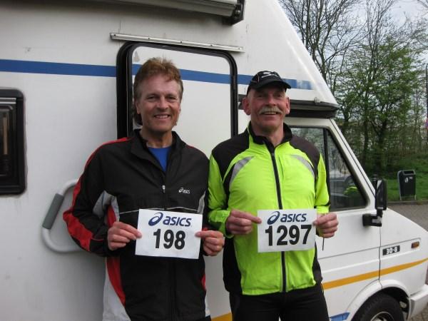 Francis Spoelstra loopt vandaag zijn 198ste en Willem Muetze zijn 1297ste