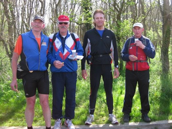 75. Willem Muetze, Alex Wijsman, Francis Spoelstra, Jan de Jonge