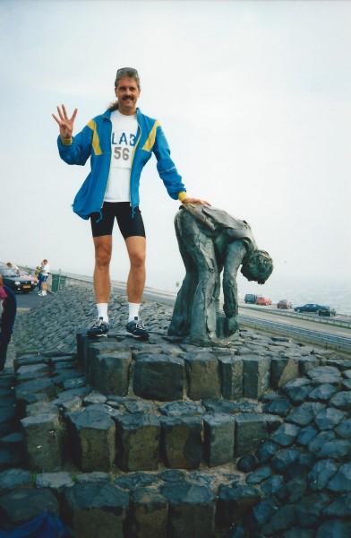 Afsluitdijk Marathon voor de vierde keer in1998