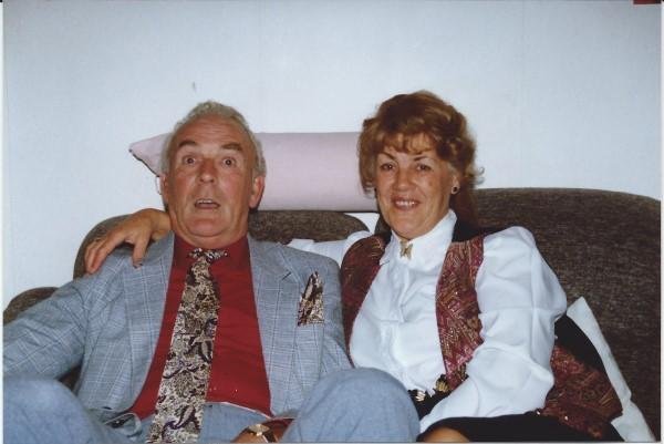 Ed Soriano was altijd welkom bij tante Teu en oom Dries(R.I.P.)