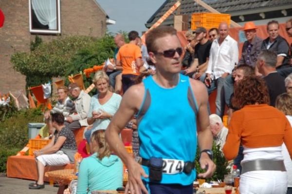 Oranje Zonnige Zuije Meer Marathon