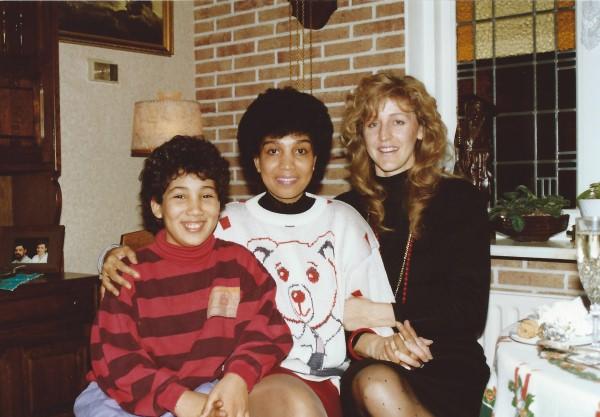 Ed Soriano op bezoek bij tante Teu en oom Dries