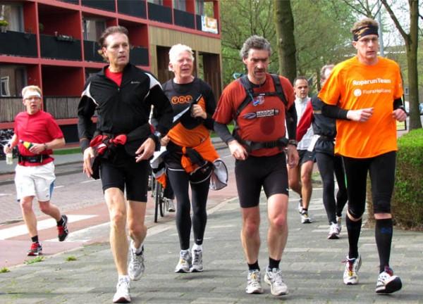 2012, 29 april, Martinistad Marathon, zie verslag