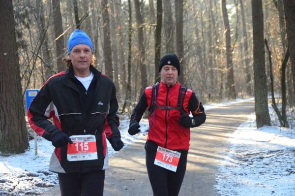 2013, 10 februari, LPM Marathon Genk, naast Frank Derese