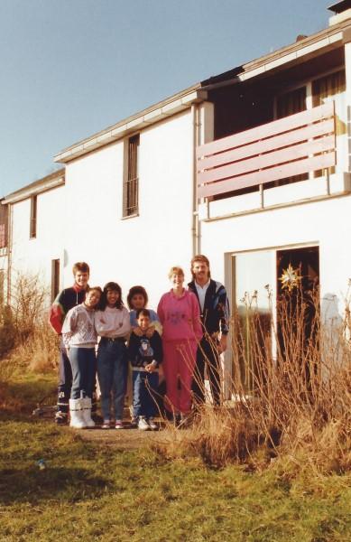 Dirk Bavelaar, Patricia Bavelaar, May, mama, Ed Soriano, Jannet, Francis