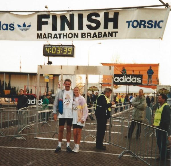 Samen de Brabant Marathon volbracht