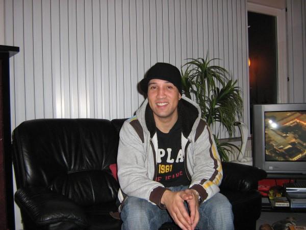 Ed Soriano in Leiden op 5 december 2006