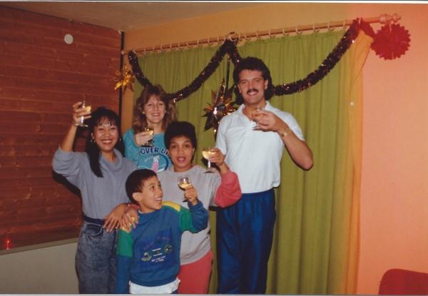 May, Jannet, Eduardo Soriano, mama, Francis