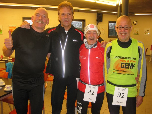 2013, 21 december, Bosmarathon Aalter