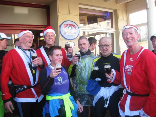 2013, 28 december, Silvester Marathon, Meerssen, Willem Muetze, Francis Spoelstra, Els Aelbers, Ghislain Dops, Jacques Vandewal, Jos Broersen, zie verslag