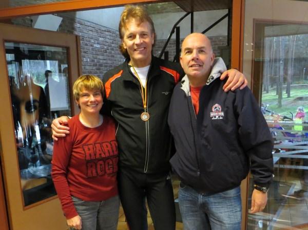 2014, 16 februari, LPM Marathon, Genk, zie verslag, Linda & Dave Major