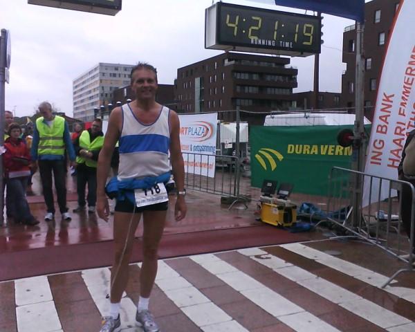 Haarlemmermeer Marathon finish