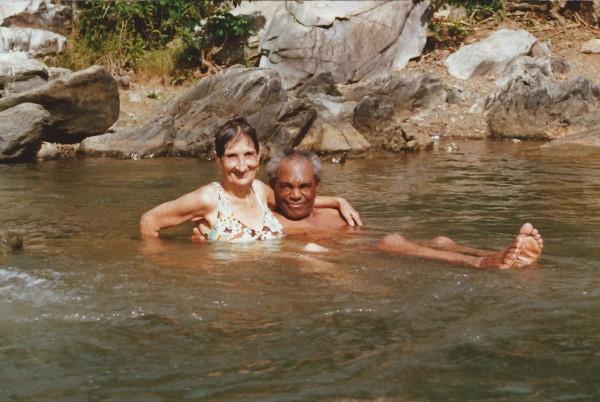 Oma Enedina en opa Batista