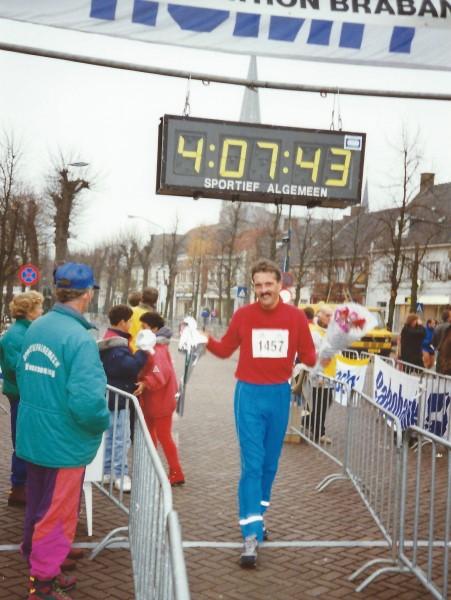 Brabant Marathon 1993 finish