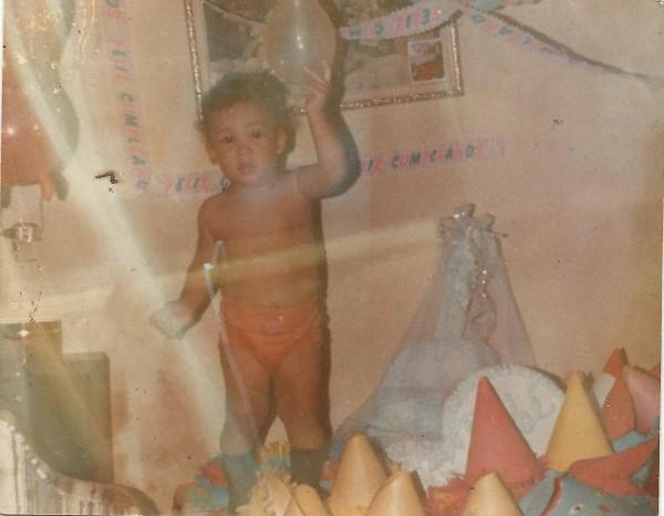 Ed Soriano 12 maanden oud