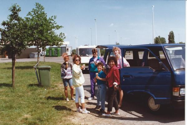 Ed Soriano een dagje weg met vrienden in onze bus