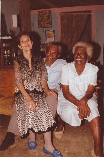 Oma Enedina, opa batista en de moeder van opa Batista, de over-groot-moeder van Eduardo Soriano