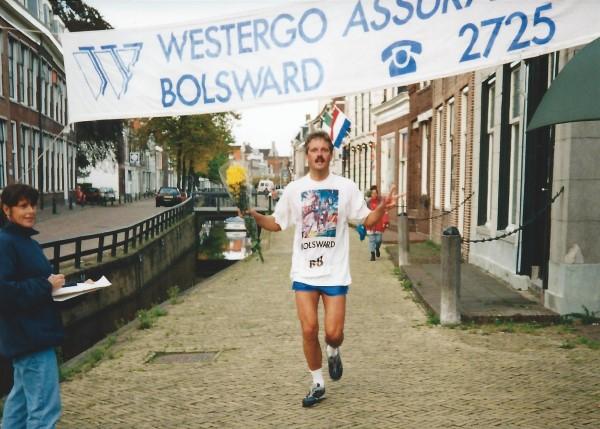 Afsluitdijk Marathon finish