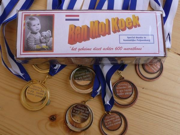 Ben Mol koek, voor zijn 600ste