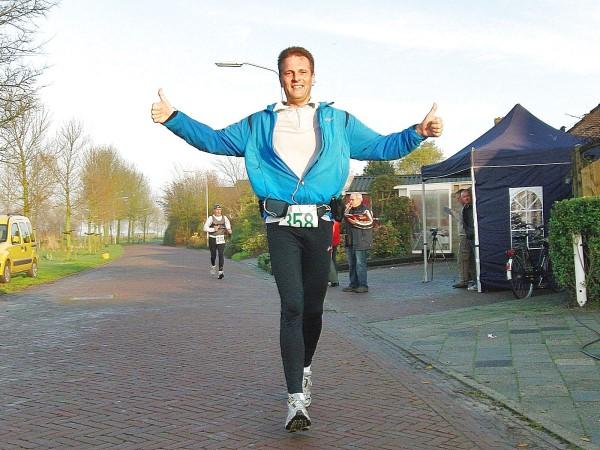 Marathon Leens finish