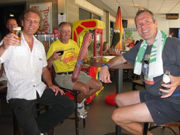 7. Francis Spoelsra, Louis Hufkens, Johan Engelen