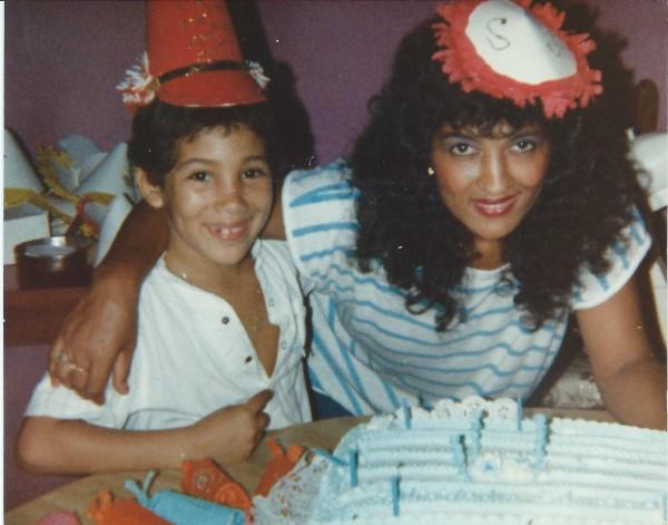 Ed Soriano wordt 8 jaar, samen met tante Negrita(R.I.P.)