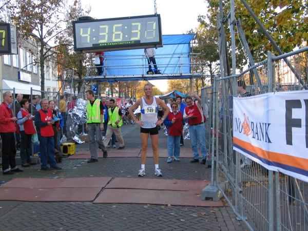 Brabant Marathon finish