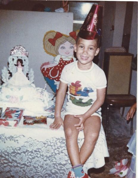 Ed Soriano 5 jaar oud