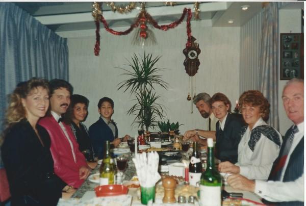 Ed Soriano viert kerst bij tante Teu en oom Dries in Dordrecht