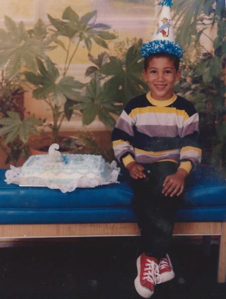 Ed Soriano 6 jaar oud