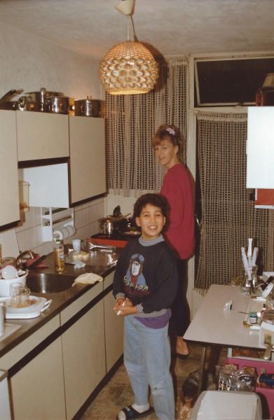 Ed Soriano in de keuken
