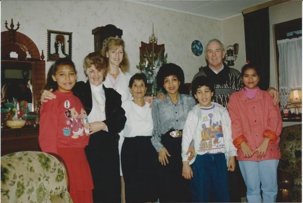 Ed Soriano bij oom Dries en tante Teu