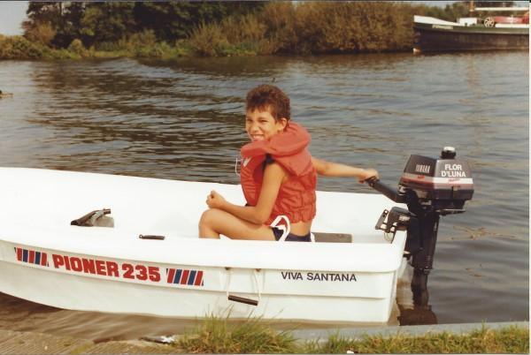 Ed Soriano krijgt zijn eigen boot