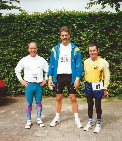 Eenmeerloop 50km met Ben Mol en Huug Langelaan