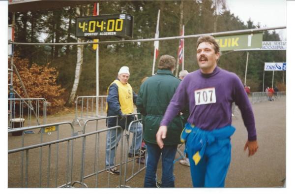 Midwinter Marathon finish