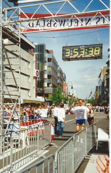 Utrecht Marathon 1994, 15 mei, finish