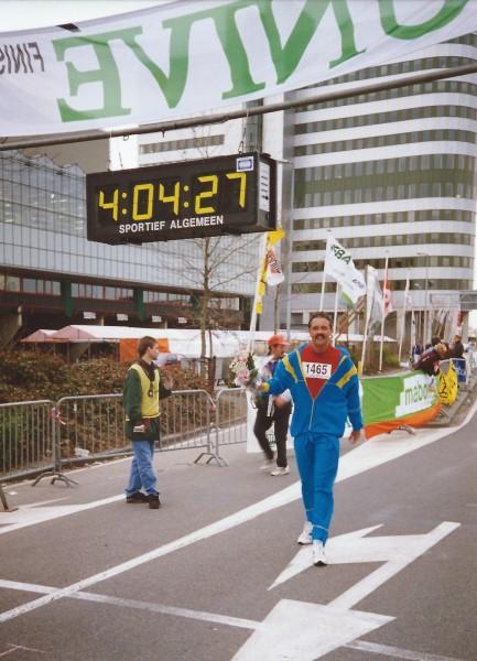 Westland Marathon 1994, 19 maart, finish