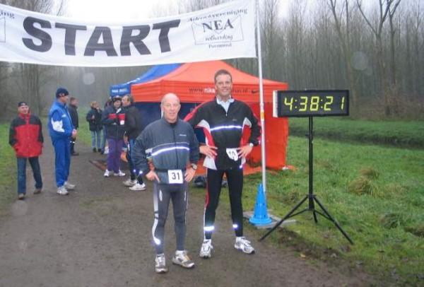 7 Met Ben Mol aan de finish