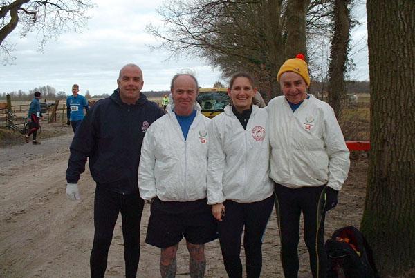 1. Dave Major(GB), Brian Mills(GB), Carla Hayes(GB), John Dawson(GB)