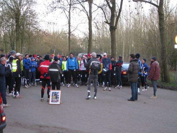 9. Huishoudelijke mededelingen voor de start van de Silvester Marathon in Meerssen